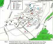 Verteilung der Spratly-Inseln -  Quelle: http://www.middlebury.edu/