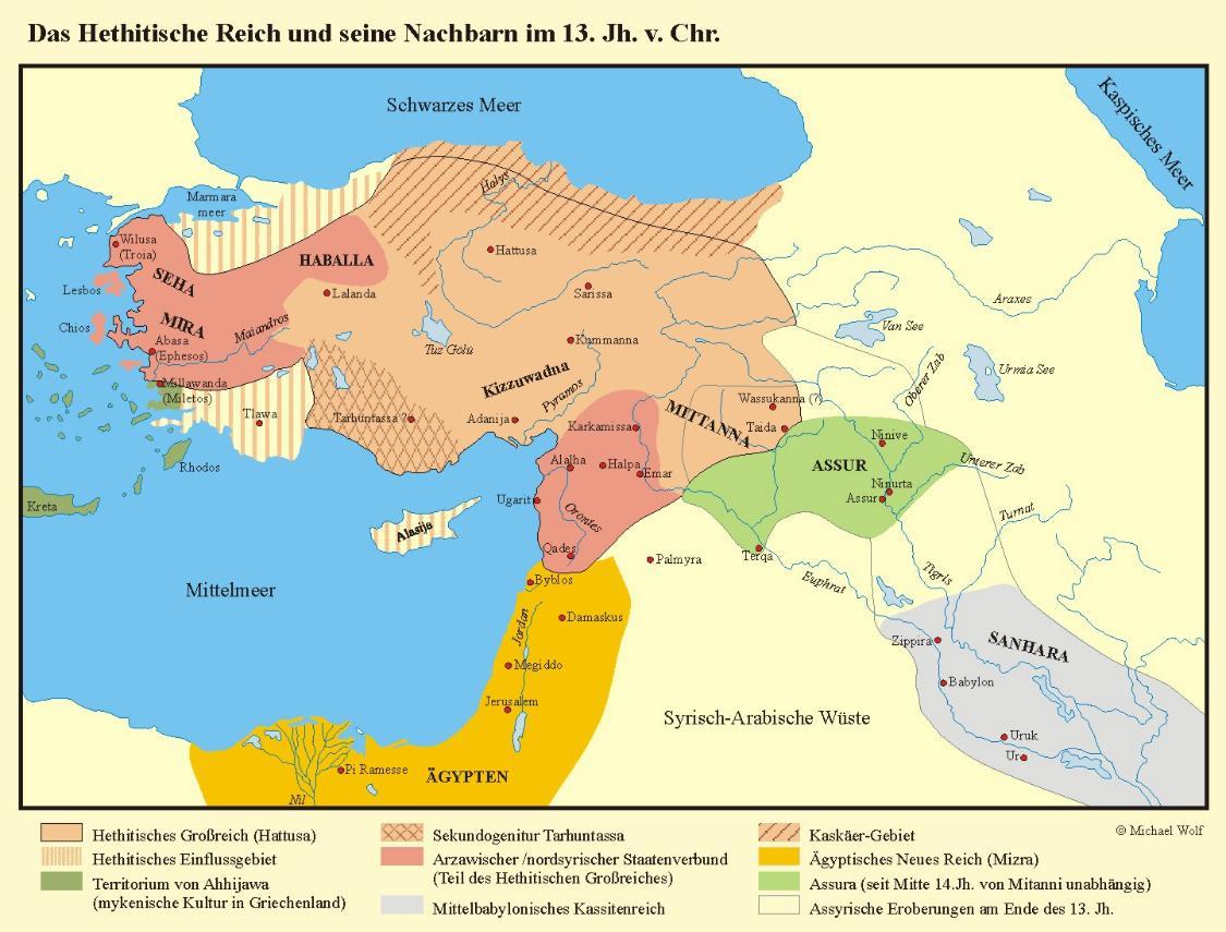 Antikes Reich In Mesopotamien