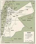 Karte Jordanien Jordan