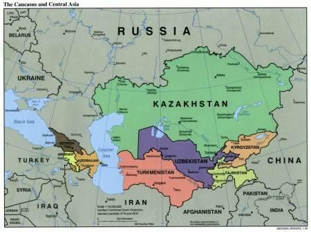 Karte Turkmenistan