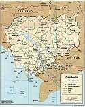 Karten Kambodscha