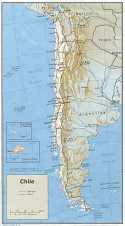 Karte Chile Map
