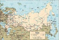 Map Russia Karte Russland