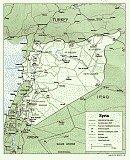Karte Syrien Syria Map