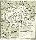 Karte Rumänien Map Romania