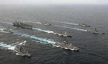 Marineforum japanisch-amerikanisches Manöver 2007 (Foto:  US-Navy)