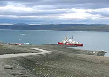 Marineforum Nanisivik in diesen Wochen (Foto: CBC)