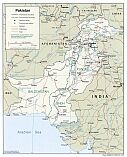 Karte Pakistan