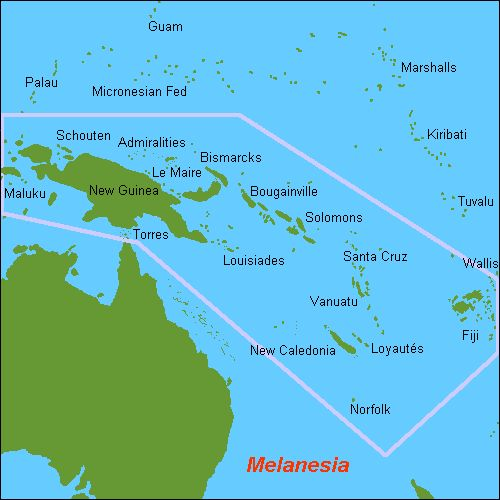 Ozeanien Melanesien Und Mikronesien Von Palau Bis Kiribati Und