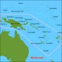 GlobalDefence.net - Karte Melanesiens map OC-Melanesia(Quelle: Wikipedia)