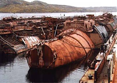 Marineforum - Schwimmende Reaktorsektionen (Foto:  EWN)