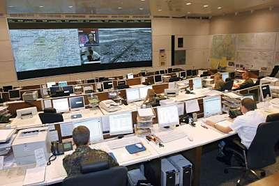 Marineforum - Operationszentrale (Foto: PIZ EinsFüKdo)