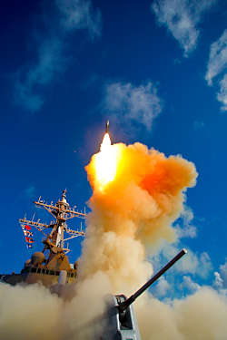 Marineforum - Seegestützte Raketenabwehr auch in europäischen Gewässern (Foto: US Navy)