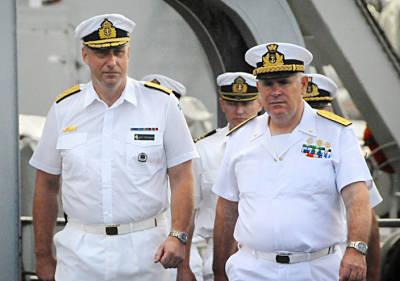 Marineforum - Komandowechsel bei EU NavFor (Foto: schwed. Marine)