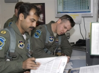 Squadron Leader Azman Khalil of the Pakistani air force