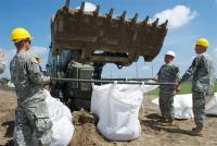 Louisiana National Guard soldiers