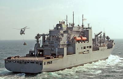 Marineforum - T-AKE 1  LEWIS AND CLARK (Foto: US Navy)
