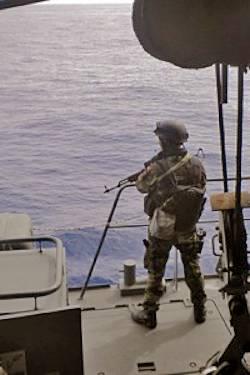 Marineforum - Soldat eines VPD (Foto: EU NavFor)