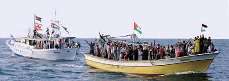 Marineforum - Ein früherer Versuch (Foto: Free Gaza)