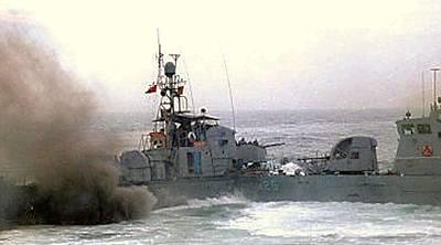 Marineforum - Bilde von einem früheren Zwischenfall (Foto: offz.)