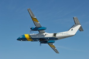 EU NAVFOR Maritime Patroll Aircraft from the Swedish Coast Guard