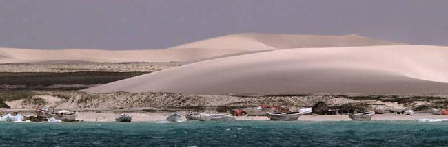 Marineforum - Piratenlager an der somalischen Küste (Foto: EU NavFor)