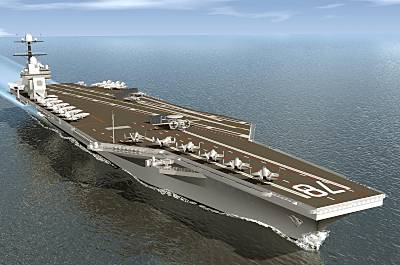 Marineforum - CVN-78-Klasse (Grafik: US Navy)