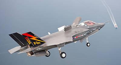 F-35 (Foto: Lockheed-Martin)