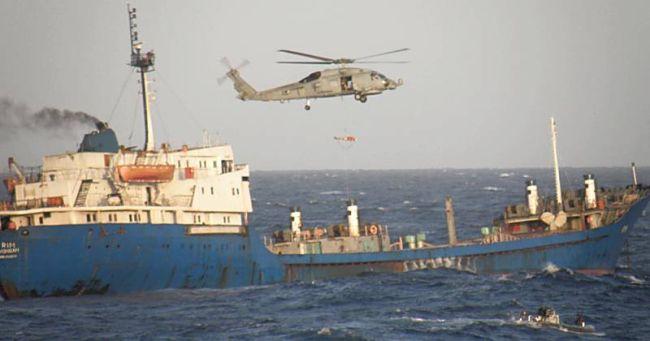 Marineforum - MedEvac von der RIM (Foto: span. Marine)