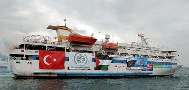 Marineforum - MAVI MARMARA (Foto: Free Gaza)