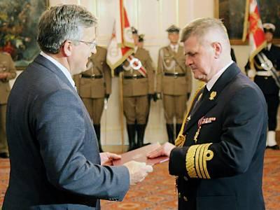 Marineforum - Amtsübernahme (Foto: poln. Marine)