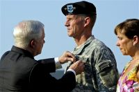 Distinguished Service Medal to U.S. Army Gen. Stanley A. McChrystal