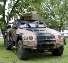 Australian Joint Light Tactical Vehicle Prototype