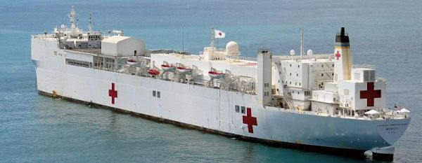 Marineforum - US-Hospitalschiff MERCY