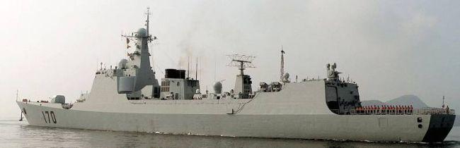 Marineforum - Chinesischer Zerstörer LANZHOU (Foto:  China Defense Forum)