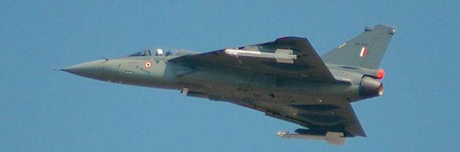 Marineforum - LCA Tejas in der Luftwaffenversion (Foto: Wikimedia)