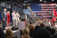 homecoming celebration marking the return of the 10th Mountain Division's 2nd Brigade Combat Team from Iraq