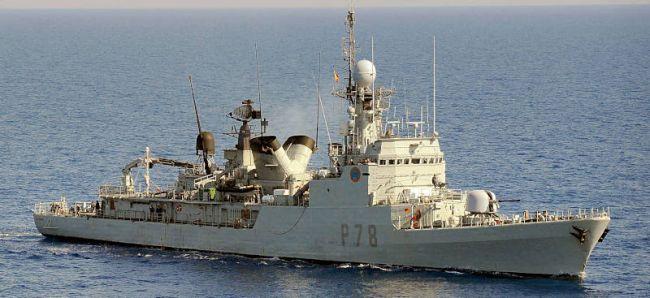 Marineforum - Spanisches Wachschiff vom Typ DESCUBIERTA-mod (Foto: US Navy)