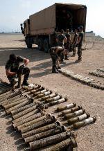 Weapons cache found in Uzbeen valley.