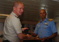 Commodore Christian Rune, Royal Danish Navy