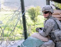 Combat Outpost Monti in eastern Afghanistan's Kunar province