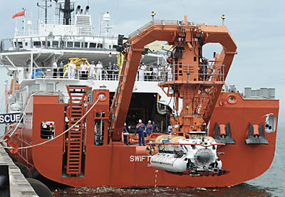 Marineforum - SWIFT RESCUE mit D-SAR 6 (Foto: RSN)
