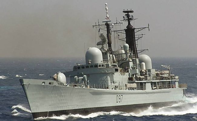 Marineforum - EDINBURGH (Foto: dt. Marine)
