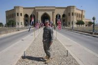Army Lt. Col. Les' Melnyk, official historian for U.S. Forces Iraq, is capturing details about U.S. military operations under way in Iraq to support a comprehensive history about Operation Iraqi Freedom and Operation New Dawn. Courtesy photo