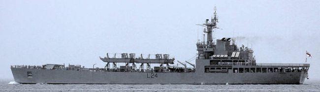 Marineforum - Landungsschiff der SHARDUL-Klasse (Foto: Michael Nitz)