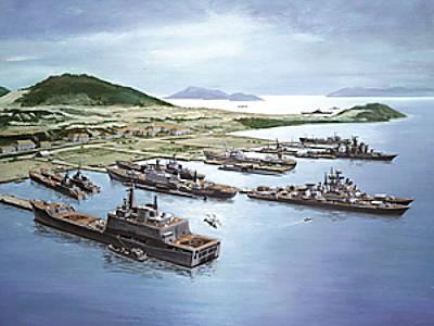 Marineforum - Cam Ranh zu sowjetischen Zeiten (Grafik: russ. Marine)