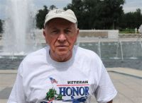 World War II Memorial in Washington, D.C., July 21, 2010