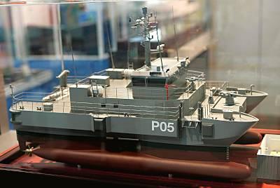 Abeking & Rasmussen Entwurf  für die lettische Marine (Foto: Michael Nitz)