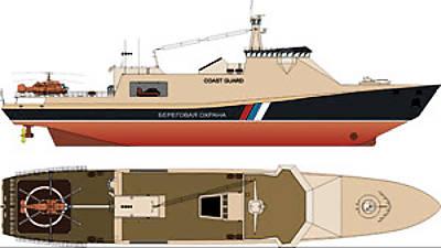 Marineforum - Icebreaking Patrol Ship (Grafik: Severnoye)