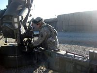 Forward Operating Base Kalagush in eastern Afghanistan's Nuristan province